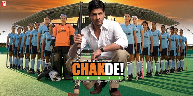 Chak De India - My favourite Bollywood movie on sports