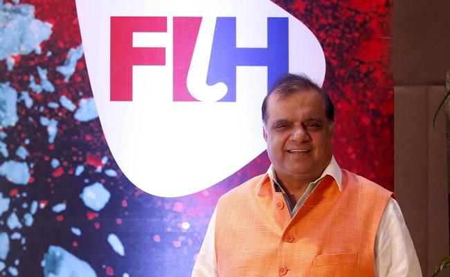 Dr Narinder Dhruv Batra, FIH President