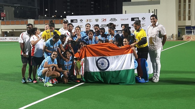Hockey: Indians Eves crowned Asian Champions