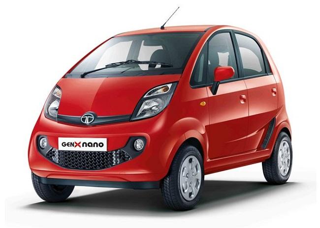 Tata GenX Nano Automatik - Sangria Red