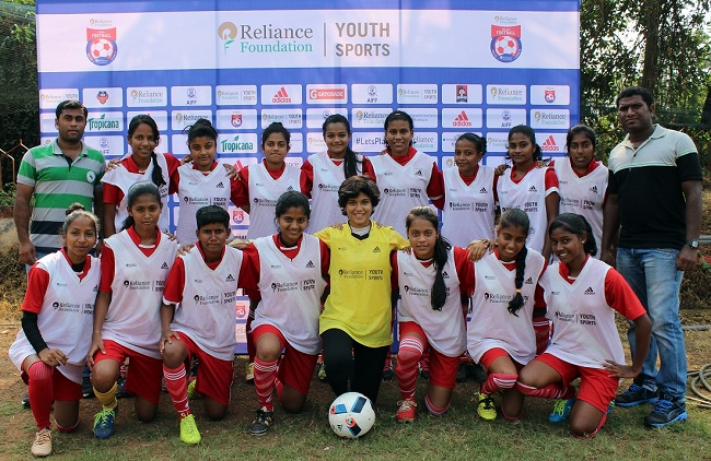 Reliance Foundation Youth Sports - Rosary Higher Secondary School