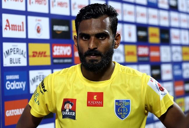ISL 2016: CK Vineeth appeals for calm from Kerala Blasters fans