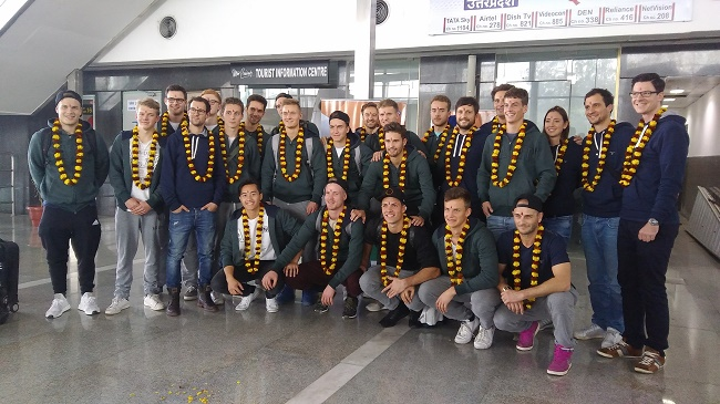 Defending champions Germany arrive in Lucknow