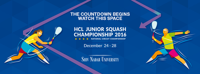 HCL Junior Squash Championship 2016