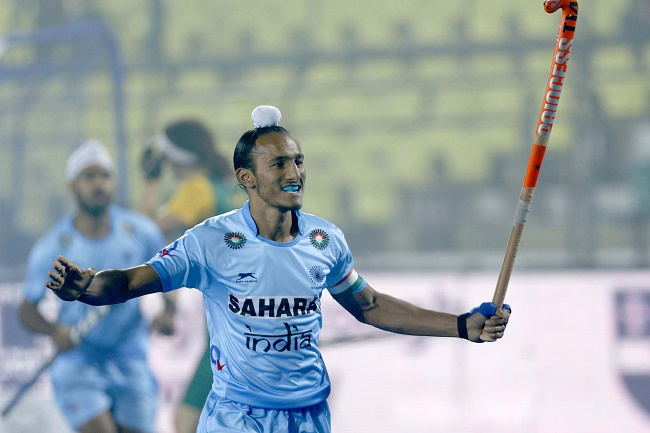 Junior Hockey World Cup 2016 - Harjeet Singh celebrates