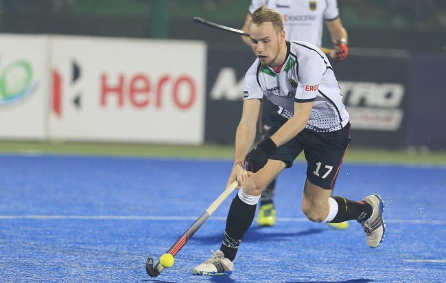 Christopher Rühr of Germany was unsurprisingly the highest paid foreign buy in the Coal India Hockey India League