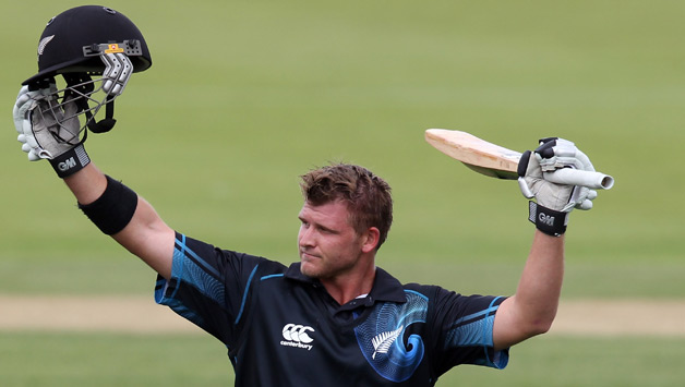 Corey Anderson bludgeoned 94 off just 41 balls as New Zealand beat Bangladesh by 27 runs in the third Twenty20 at Bay Oval on Sunday to sweep the series.