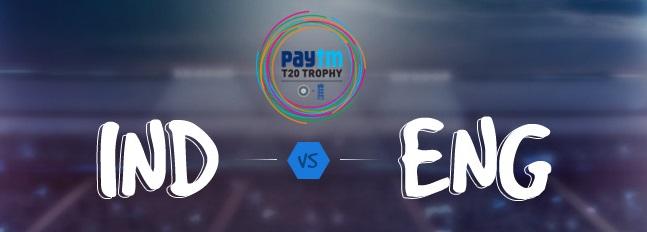 Paytm T20 Trophy - India vs England