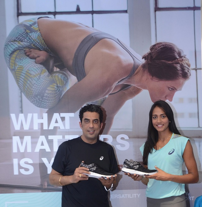 Karman Kaur Thandi unveils ASICS latest training collection - FIT YUI