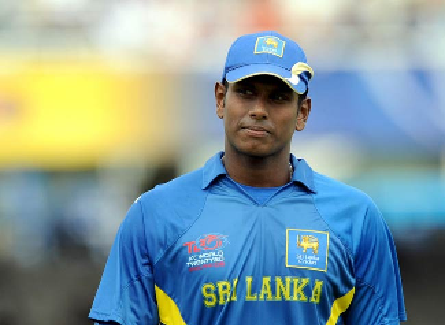 Angelo Mathews, the Sri Lankan all-rounder