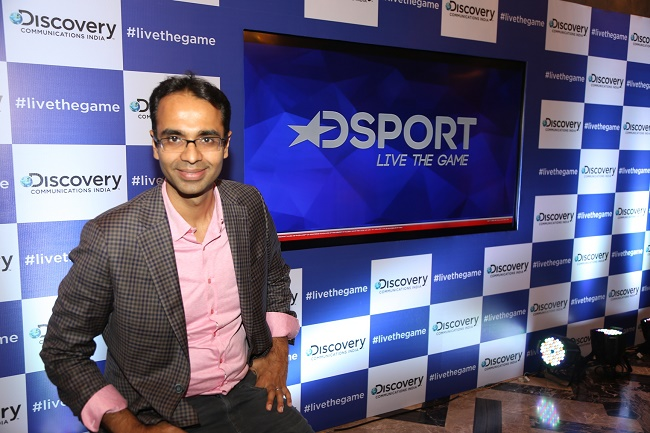 Karan Bajaj, SVP and GM, Discovery Netwroks APAC on DSPORT Launch