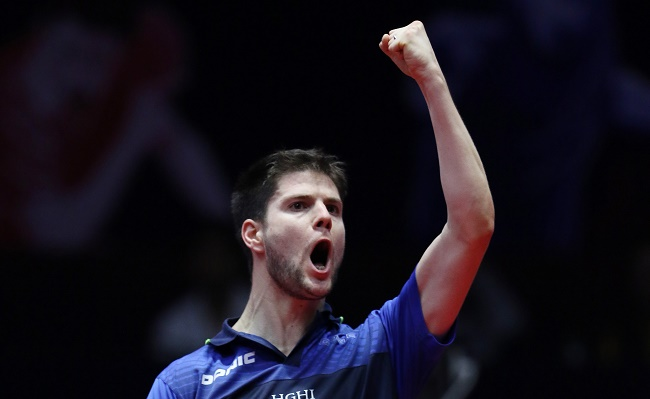 Top seeded Dimitrij Ovtcharov of Germany wins the first ever Seamaster 2017 ITTF World Tour India Open