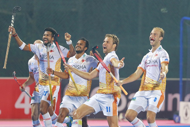 Kalinga Lancers registered their first ever win against Jaypee Punjab Warriors with a narrow 6-5 victory.