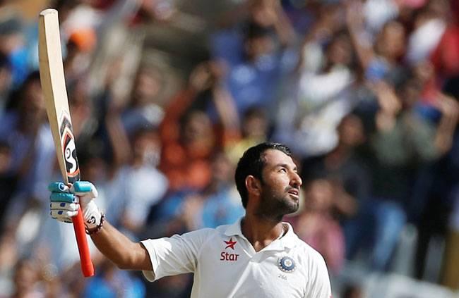 Cheteshwar Pujara helps India narrow deficit after Pat Cummins blows