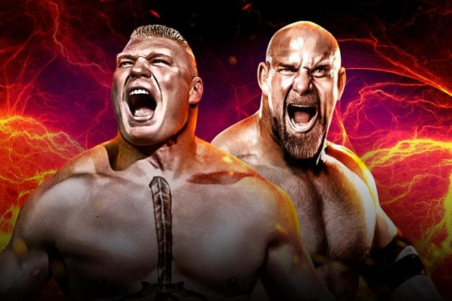 WWE Wrestlemania 33: Bill Goldberg vs Brock Lesnar - Preview