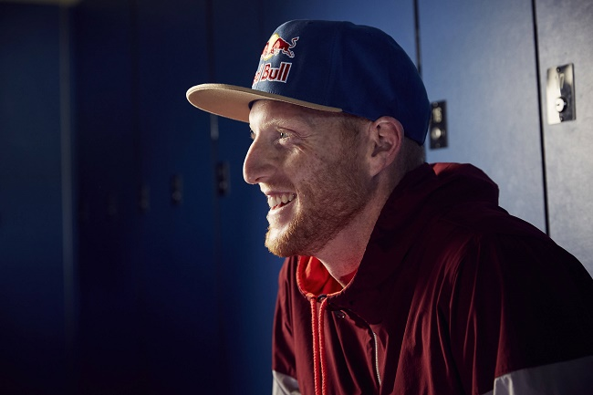 Red Bull athlete Ben Stokes