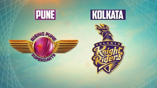 IPL 2017: Rising Pune Supergiant vs Kolkata Knight Riders - Live Score #IPL