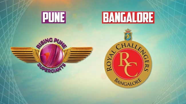 IPL 2017 Live Score: Rising Pune Supergiant vs Royal Challengers Bangalore #IPL