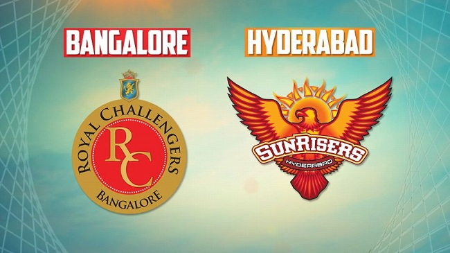 IPL 2017: Royal Challengers Bangalore vs Sunrisers Hyderabad - Live Score #IPL