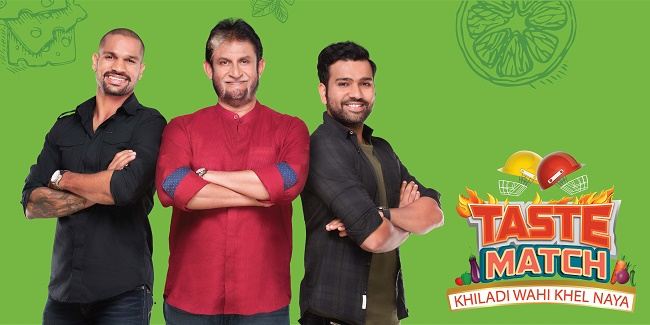 One of India's most-loved sports icon, Sandeep, will make his television debut with 'Taste Match' on Living Foodz and &TV