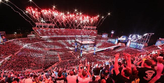 WrestleMania breaks records