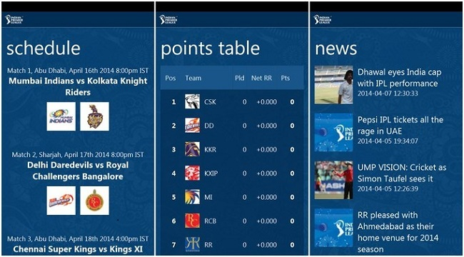Official IPL 2017 App by Board of Control for Cricket in India (BCCI)