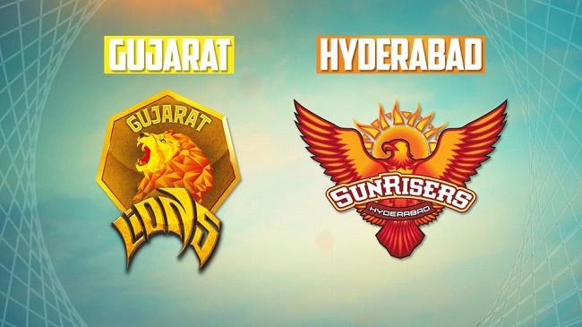 IPL 2017 Live Score: Gujarat Lions vs Sunrisers Hyderabad #IPL