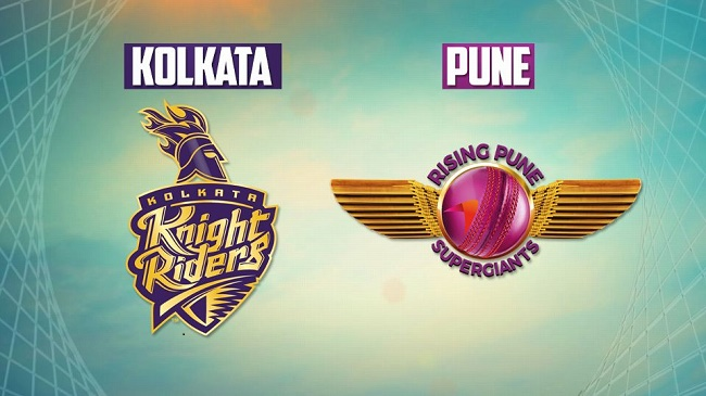 IPL 2017 Live Score: Kolkata Knight Riders vs Rising Pune Supergiant #IPL