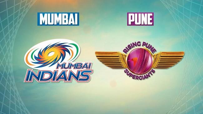 IPL 2017 Qualifier 1 Live Score: Mumbai Indians vs Rising Pune Supergiant #IPL