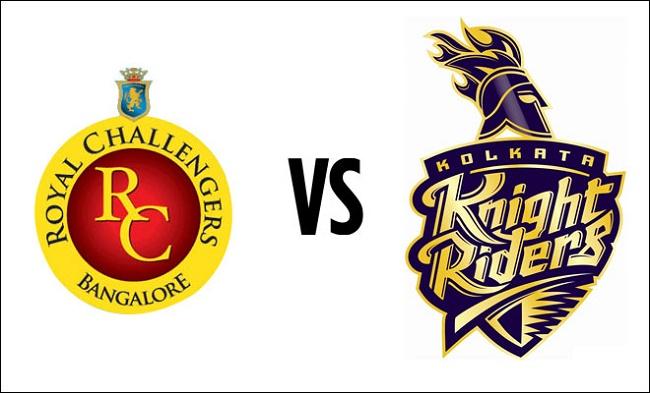 IPL 2017 Live Score: Royal Challengers Bangalore vs Kolkata Knight Riders #IPL