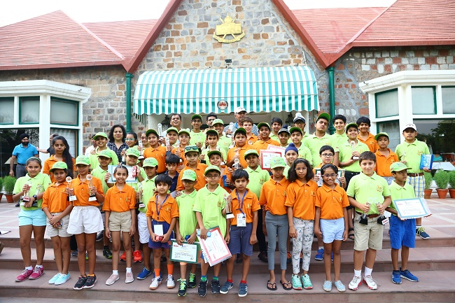 Winners of Usha Junior Training Programme for Golf 2017