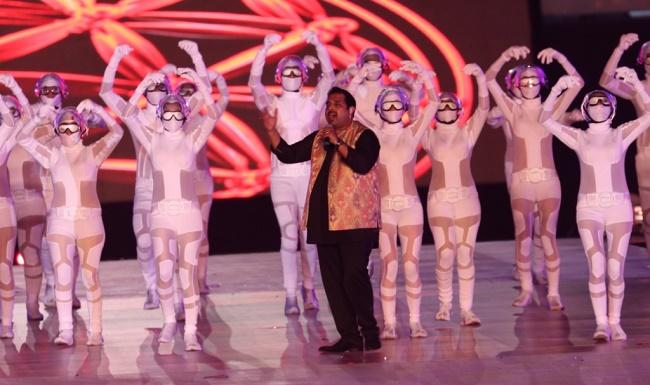 Shankar Mahadevan Performing live at AAC 2017 Opening Ceremony, Bhubaneswar