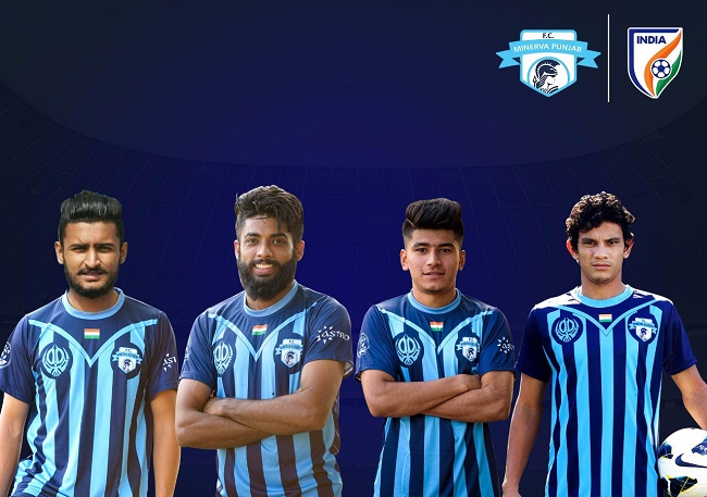 4 Minervans and 3 city boys in India Senior Football Team