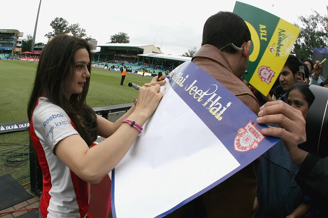 Bollywood's Preity Zinta announced as owner of Stellenbosch franchise in T20 Global League