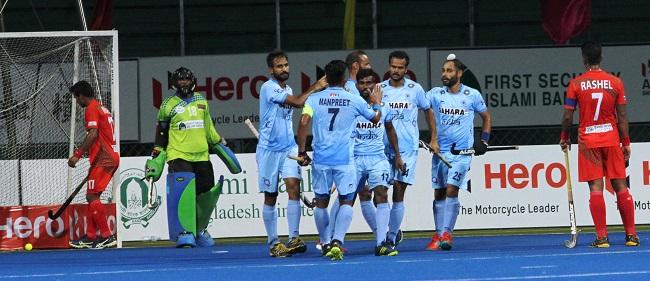 Hero Asia Cup 2017: Indian Men's Hockey Team beat Bangladesh 7-0