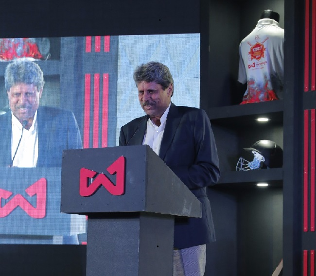 Kapil Dev talking about his association with Wonder Cement Saath7 Cricket Mahotsav