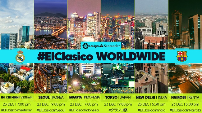 El Clasico - a global spectacle
