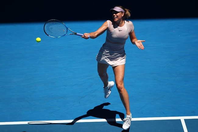 The 5-time Grand Slam champion, Maria Sharapova is through to the second round of the 2018 Australian Open