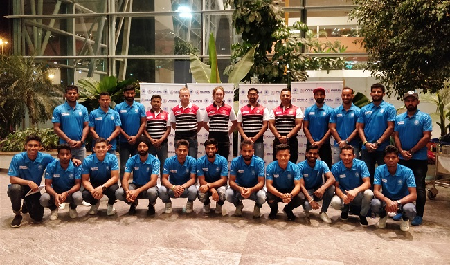 Indian Men's Hockey Team leaves for 27th Sultan Azlan Shah Cup 2018